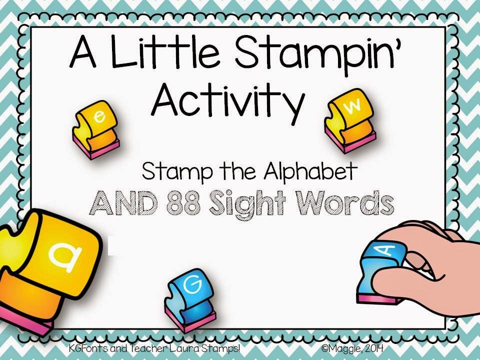 https://www.teacherspayteachers.com/Product/Alphabet-and-Sight-Word-Stamping-Center-Activities-1431512
