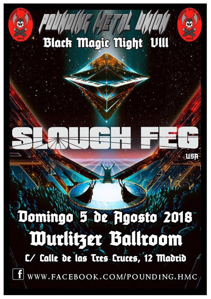 SLOUGH FEG EN MADRID
