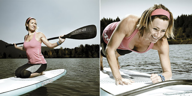 fitness on SUP