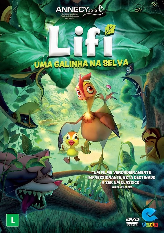 Lifi Uma Galinha Na Selva – Dublado (2011)