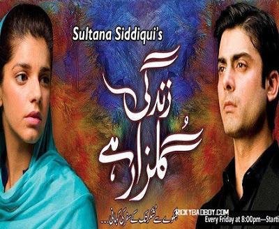 Zindagi Gulzar Hai Lyrics - Ali Zafar