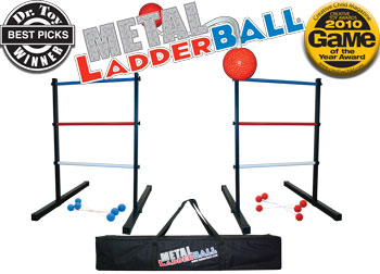 how to make spin it ladder ball game