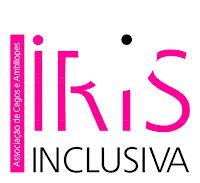 Logotipo da Íris Inclusiva, Associação de Cegos e Amblíopes