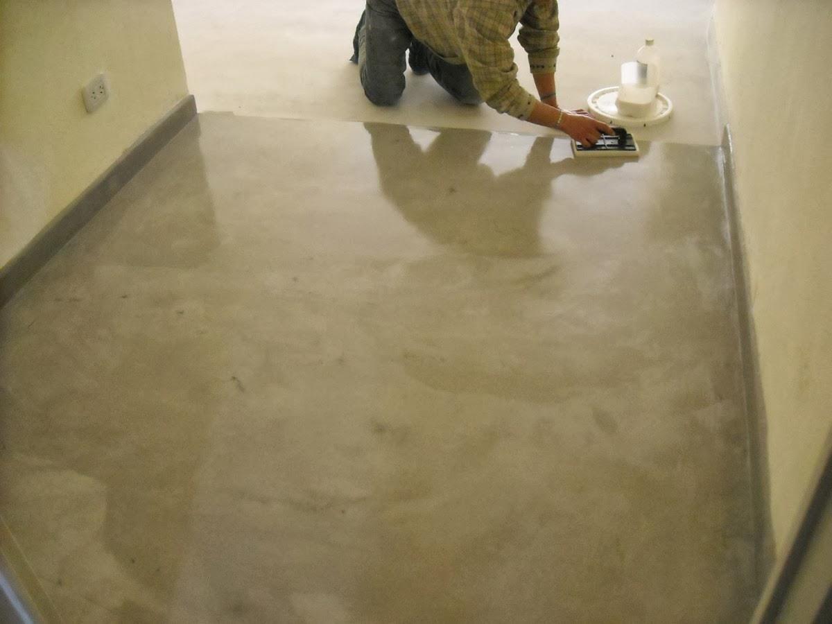 Orientame de todo un poco decorando el hogar sin grandes for Piso cemento pulido