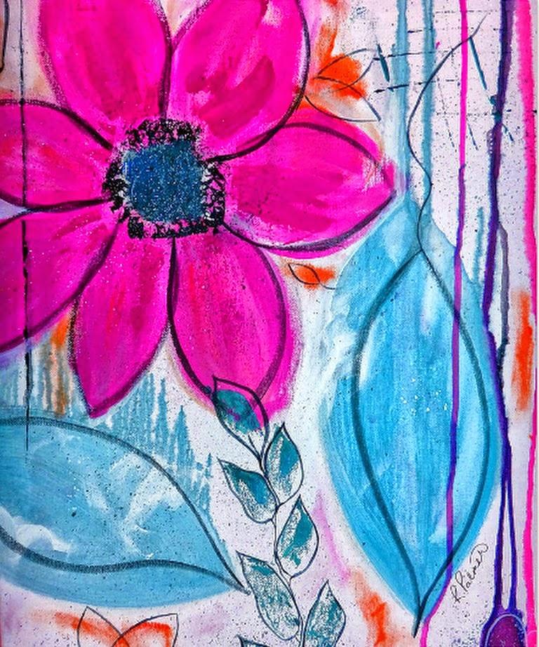 cuadros-abstractos-de-flores