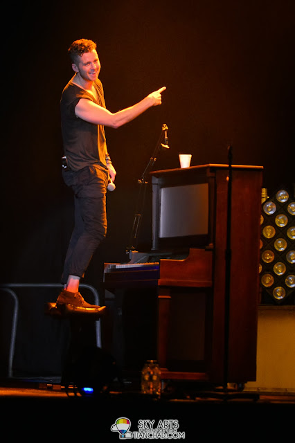 Ryan on the piano OneRepublic Native Live in Malaysia 2013