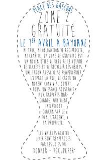 zone de gratuité 2013 Place des gascons - Bayonne