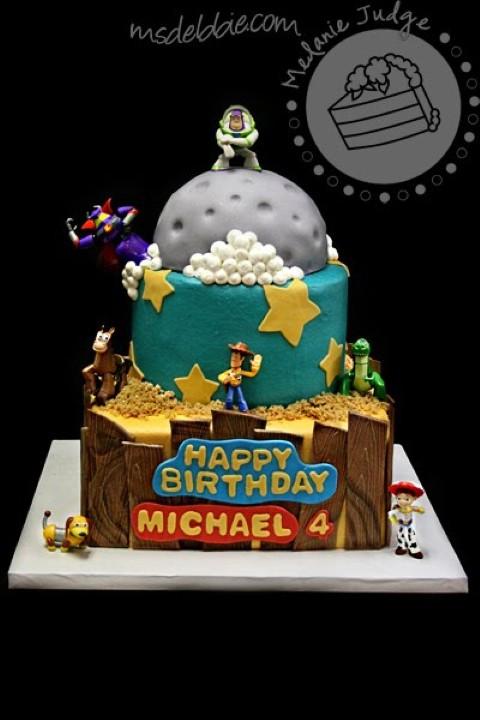Look - Designer Interior birthday cake video