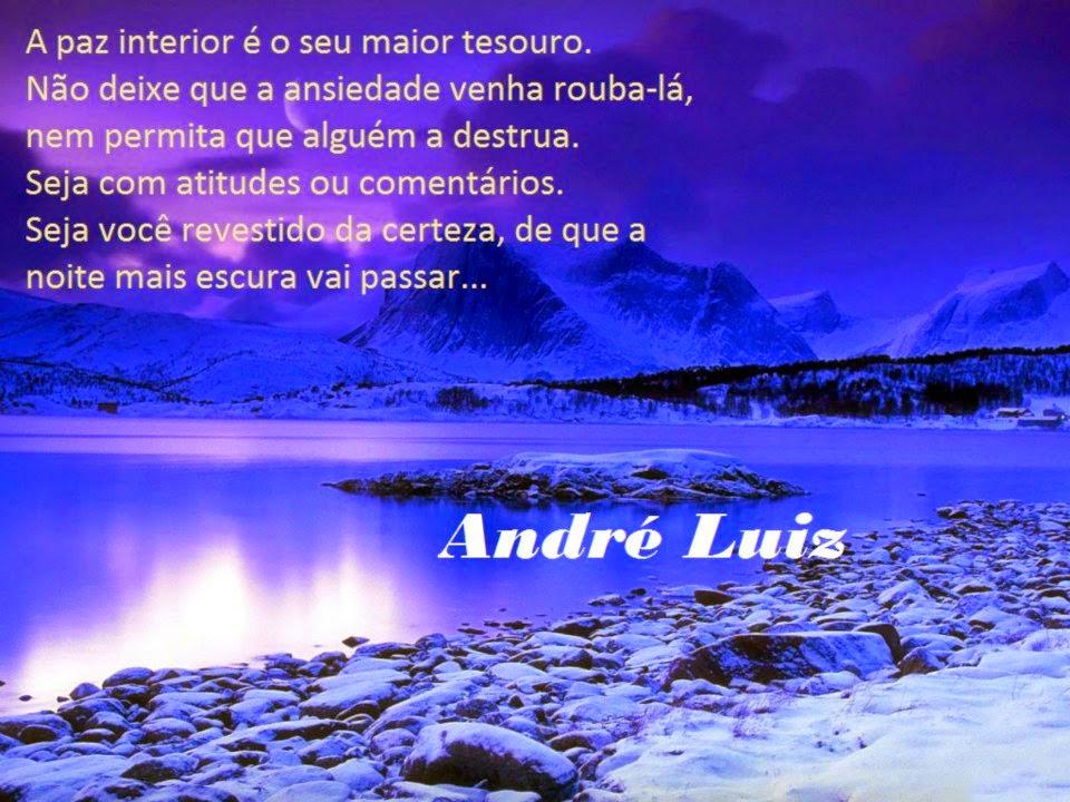 Muitas vezes FRATERLUZ: Paz Interior (André Luiz) YZ97