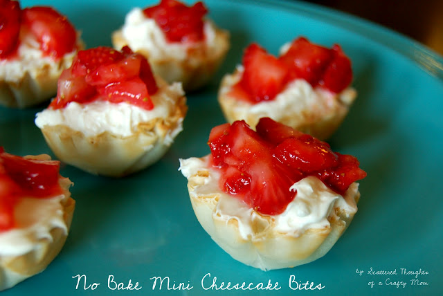 no bake mini cheesecake bites