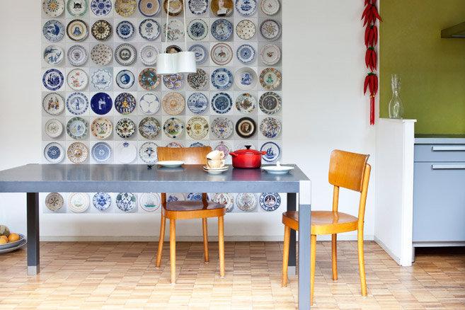 Come decorare le pareti della cucina e non solo architettura e design a roma - Carta parati cucina ...