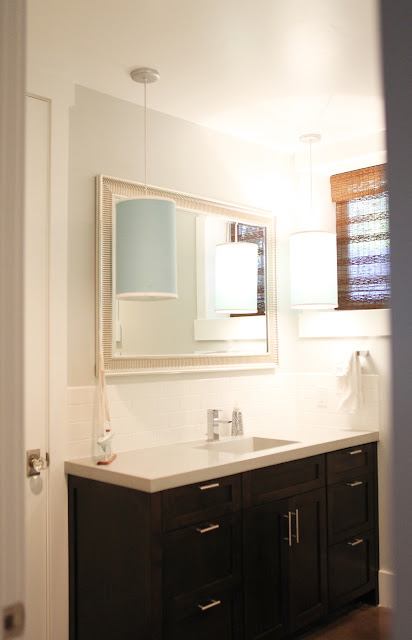 Brooke Jones Designs Guest Bathroom