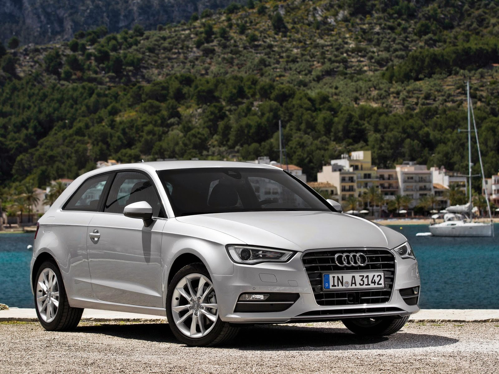 2013 audi a3 front view
