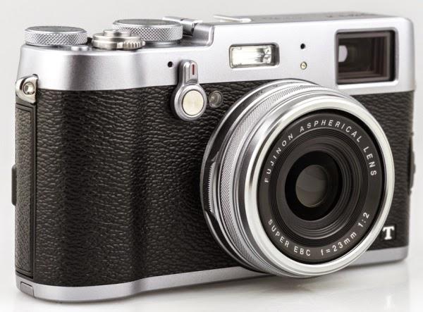 Fujifilm X100T silver black