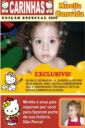 Convite  Festa Aniversário Infantil Caras - Tema Hello Kitty
