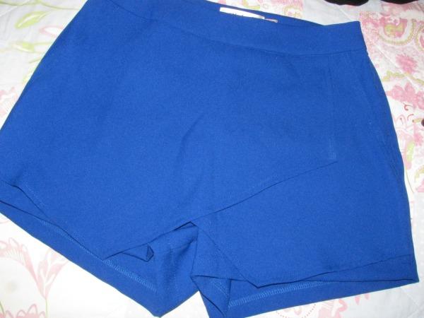Blue Skorts  vorne / front Persunmall