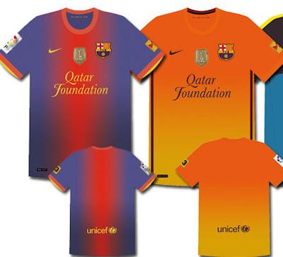 La Nueva Camiseta del FC Barcelona 2012 – 2013