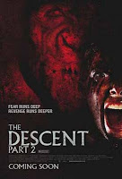 the descent sinema filminin afişi