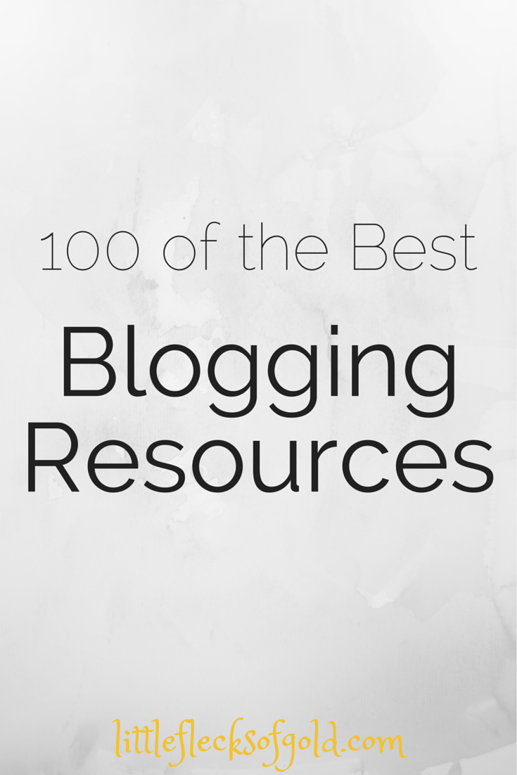 tons of great posts about blogging!