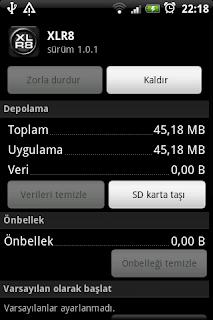 Android Uygulamaları SD Karta Taşıma