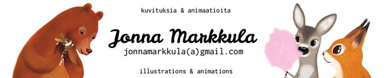 Kuvittaja Jonna Markkula