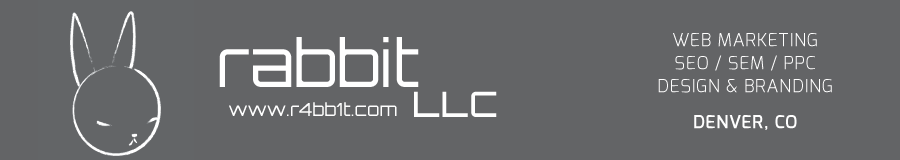 Rabbit LLC - Denver Adwords PPC, SEM, SEO, and Design