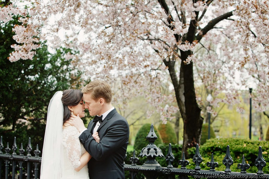 les fleurs : boston common : spring wedding : sweet monday photography