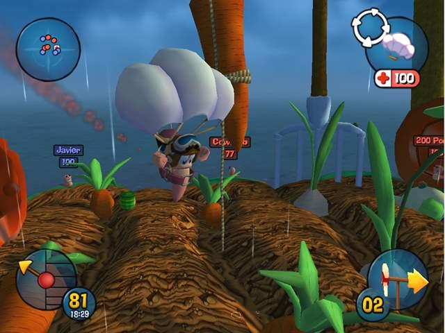Worms 3d game image