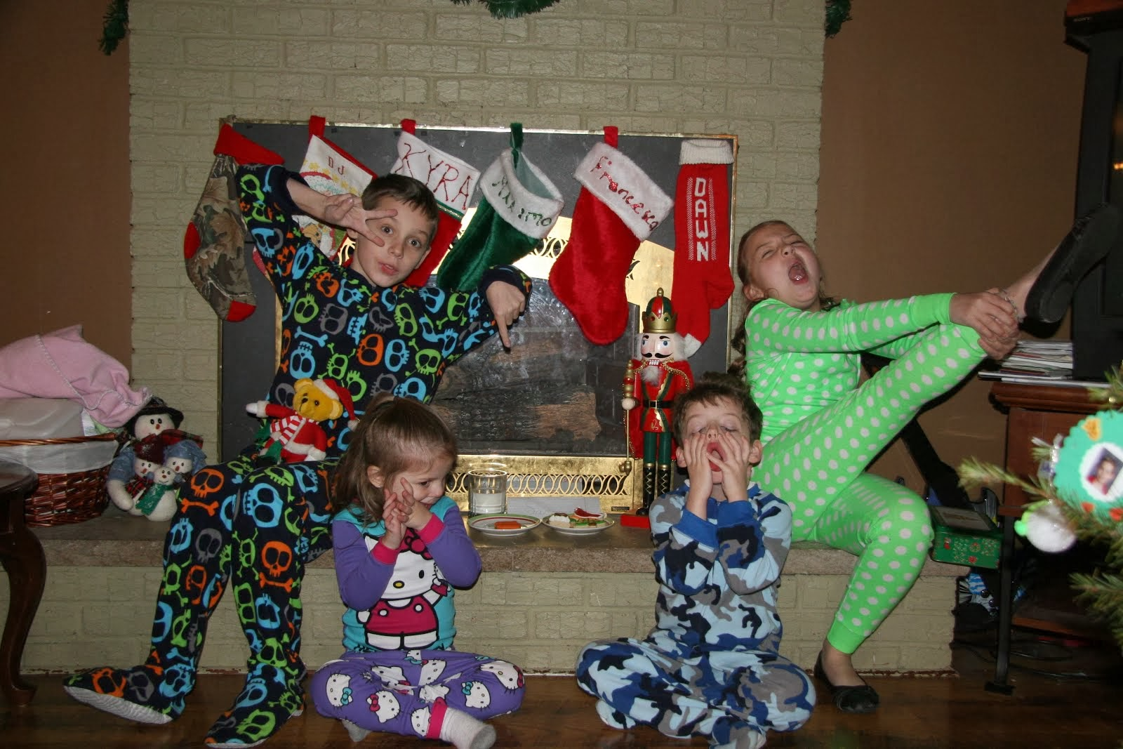 crazy kids christmas eve