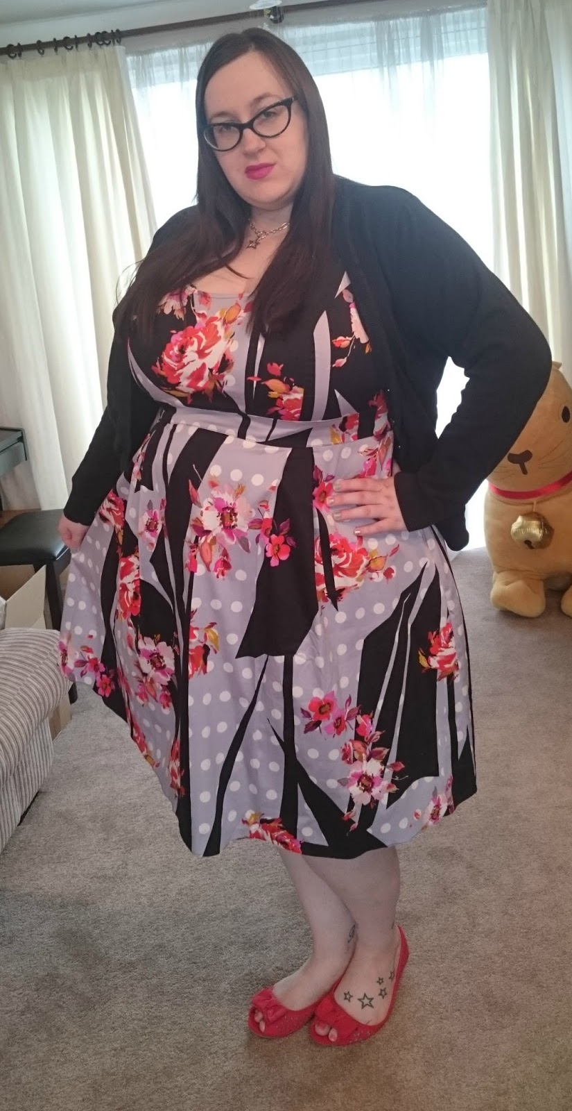 Simply Be Prom dress - Does My Blog Make Me Look Fat?