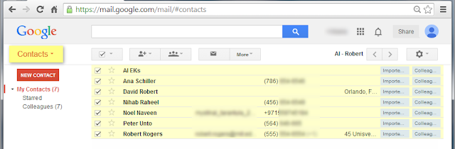 google transfer iphone contacts