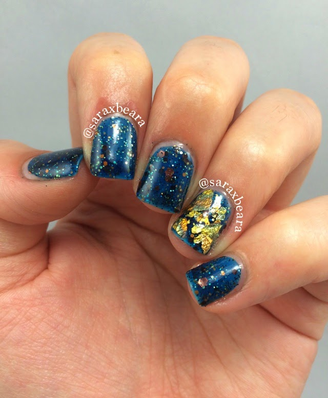 """""""My Spirit Flies"""" Heather's Hues Happily Ever Lacquered Disney Princess Inspired Collection Princess Merida"""