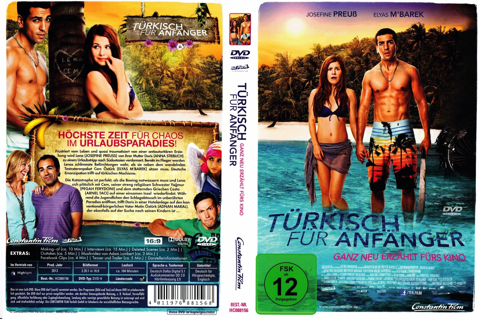 Download Turco Para Iniciantes BDRip XviD Dublado Tuerkisch fuer Anfaenger 15 Cover