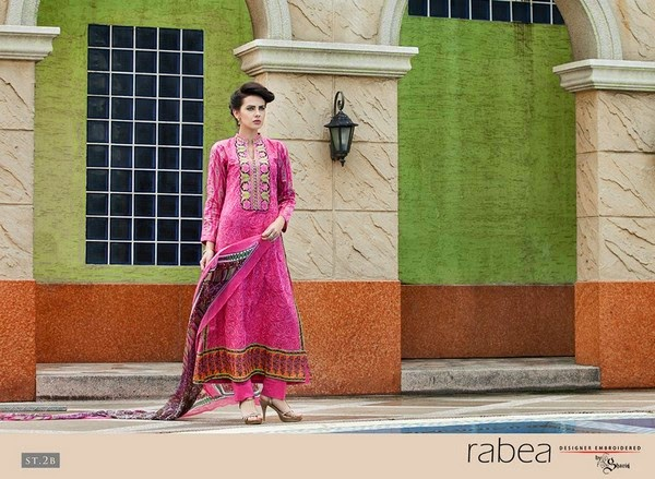 Rabea Designer Embroidered Collection 2014-2015