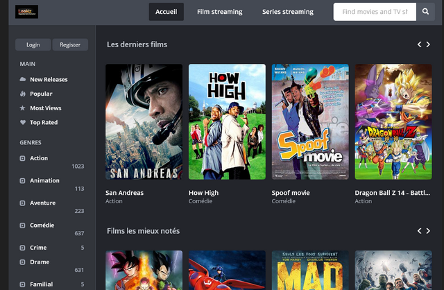 Films gratuits en streaming pour adultes