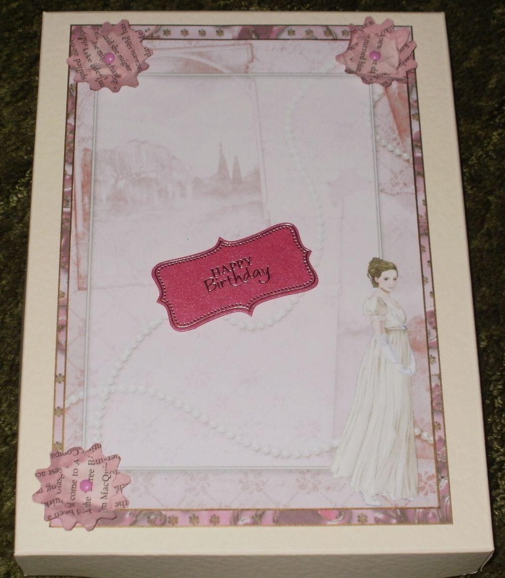 Kym S Crafty Cards Birthday Card And Box