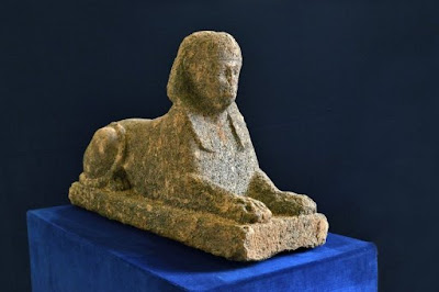 Italian police recover stolen Egyptian sphinx