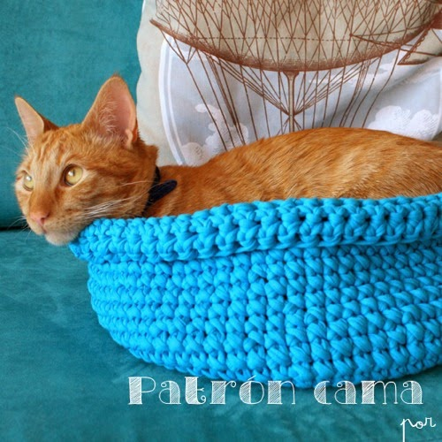 Cama para gatos de trapillo