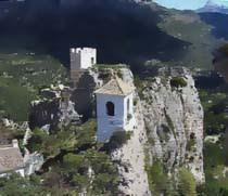 Pintura del Castell de Guadalest