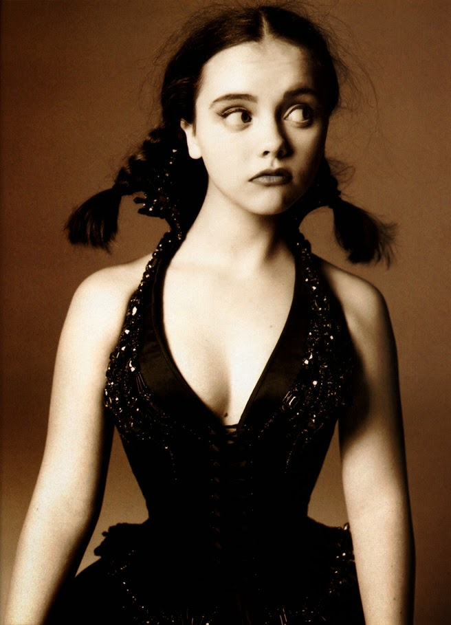 ... from the Beach: Rule 5 Saturday - Wednesday Child - Christina Ricci Christina Ricci