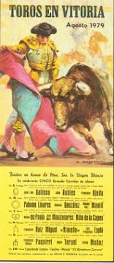 TOROS EN VITORIA 1979