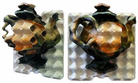 Arte con Cartones de Huevo