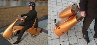 دراجة كهربائية قابلة للثنى