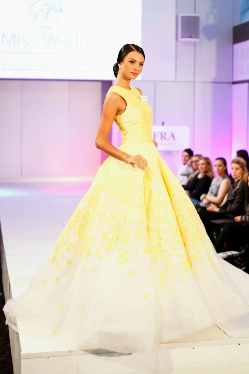 SASHES AND TIARAS.....Best Beauty Pageant Gowns of 2014 | Nick Verreos