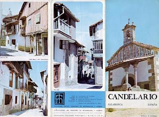 Folleto informativo de Candelario Salamanca, portada