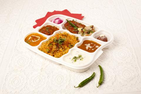 Moti Mahal's Packed Lunch