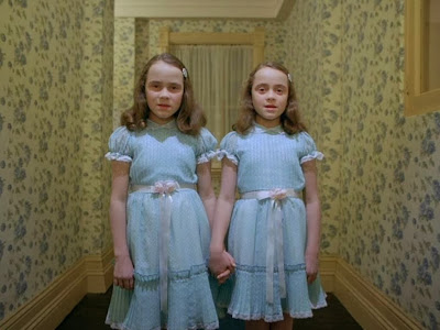 The Shining Twins www.thebrighterwriter.blogspot.com