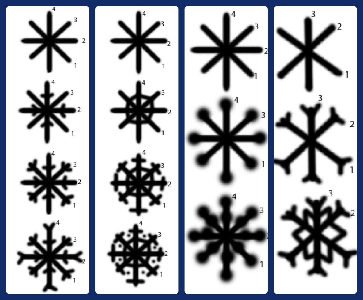how to draw a snowflake youtube