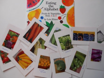 Eating the Alphabet activity