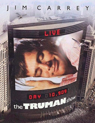 Poster Of The Truman Show (1998) Full Movie Hindi Dubbed Free Download Watch Online At worldfree4u.com